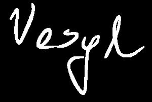podpis biały Vasyl