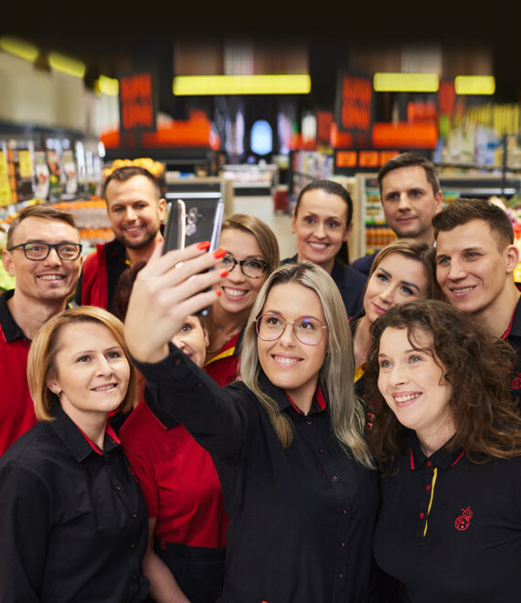 Pracownicy Biedronki