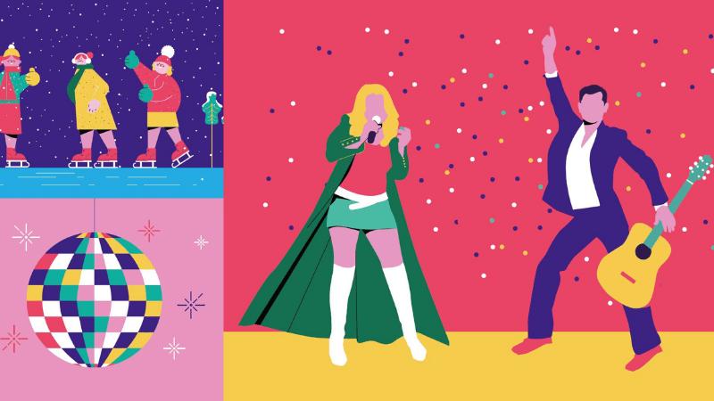 grafika impreza noworoczna