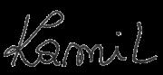 Podpis Kamila