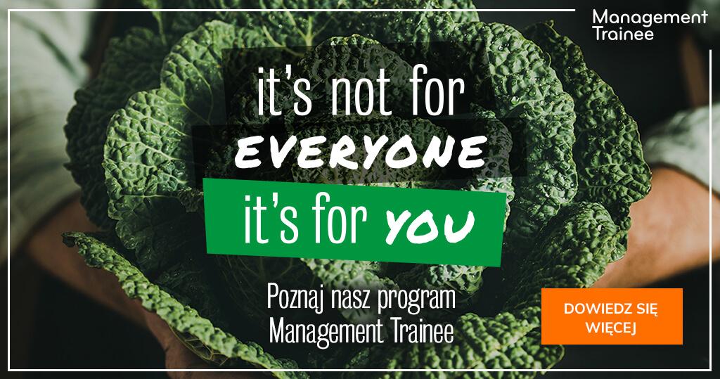 Management trainee banner