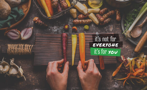 It is not fo everyone it is for you