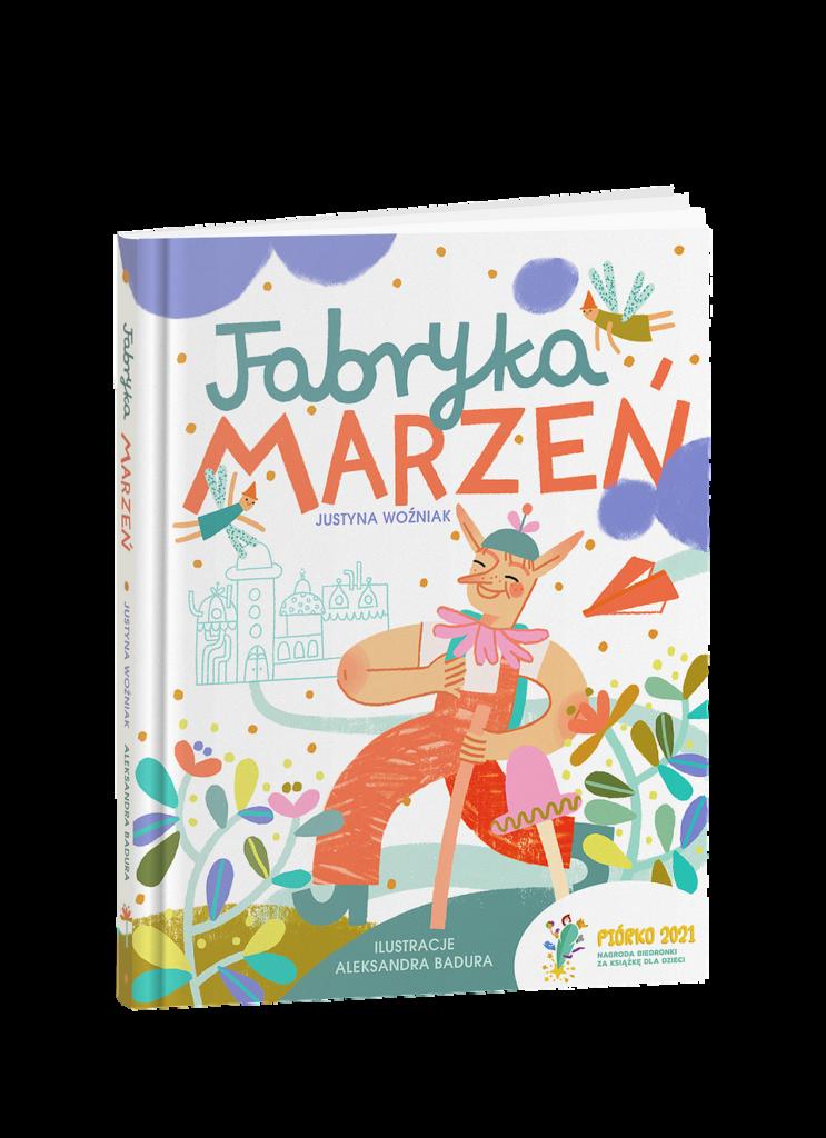 okładka Fabryki Marzeń - zwycięskiego projektu 7 edycji konkursu Piórko